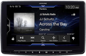 ALPINE iLX-F309 HALO9 9-INCH MECH-LESS AUDIO/VIDEO RECEIVER