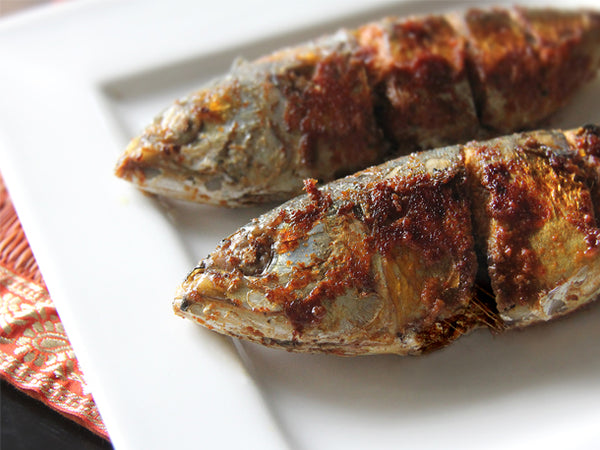 Fried Indian Mackerel (Ikan Kembong)
