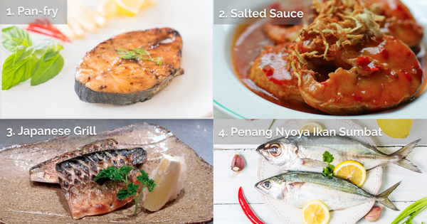 4 simple ways to cook Mackerel