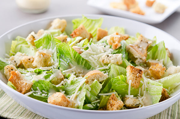 Classic Caesar Salad with Crispy Anchovy