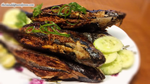Sambal Stuffed hard Tail Scad (Ikan Cencaru)