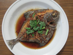 Black Pomfret . Credit to chinesecookingrecipes. Myfishman