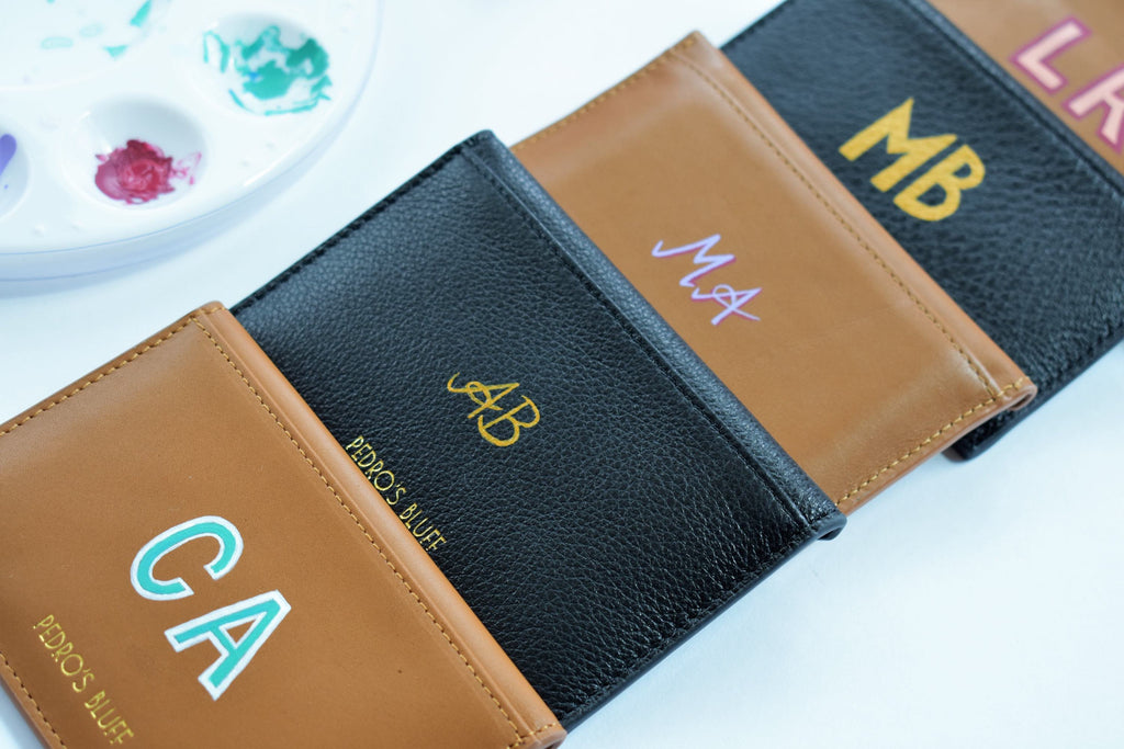 Personalised Leather Goods by Pedro's Bluff