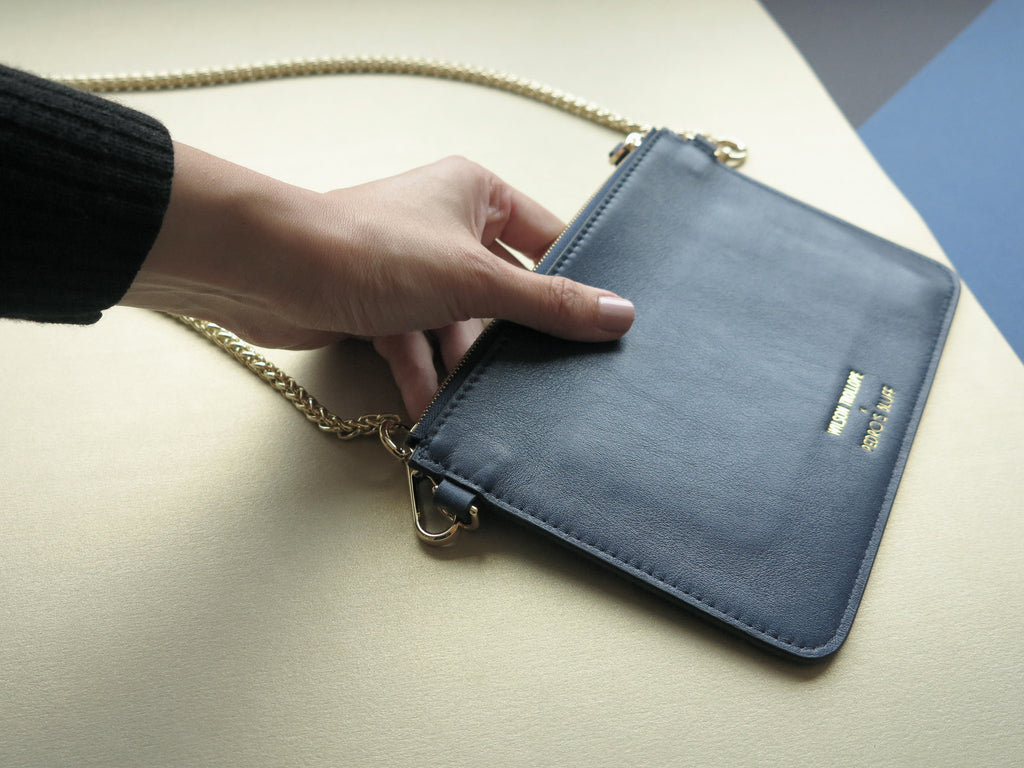 PEDRO'S BLUFF - Soiree Pochette in Navy