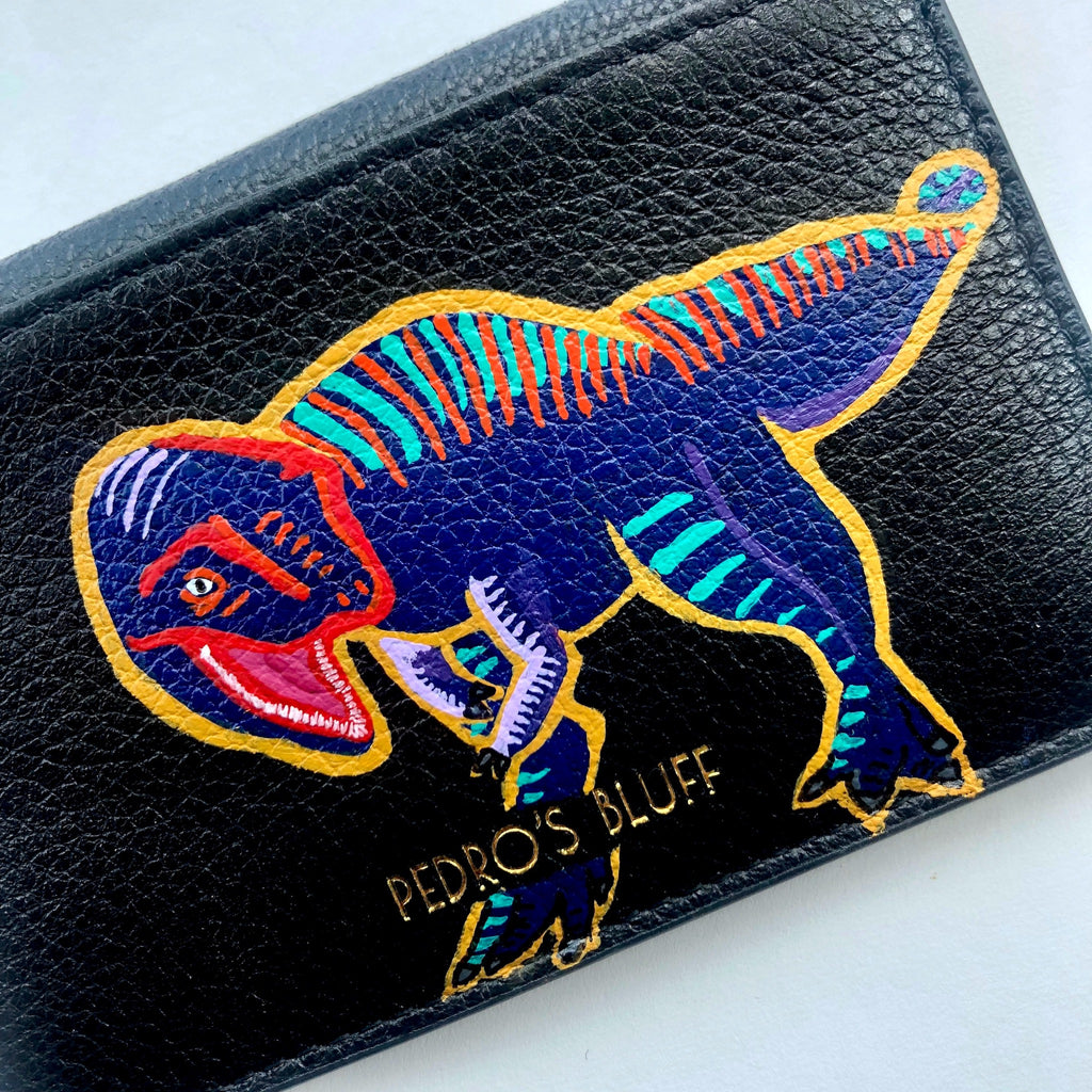 Leather Painting - Dinosaur