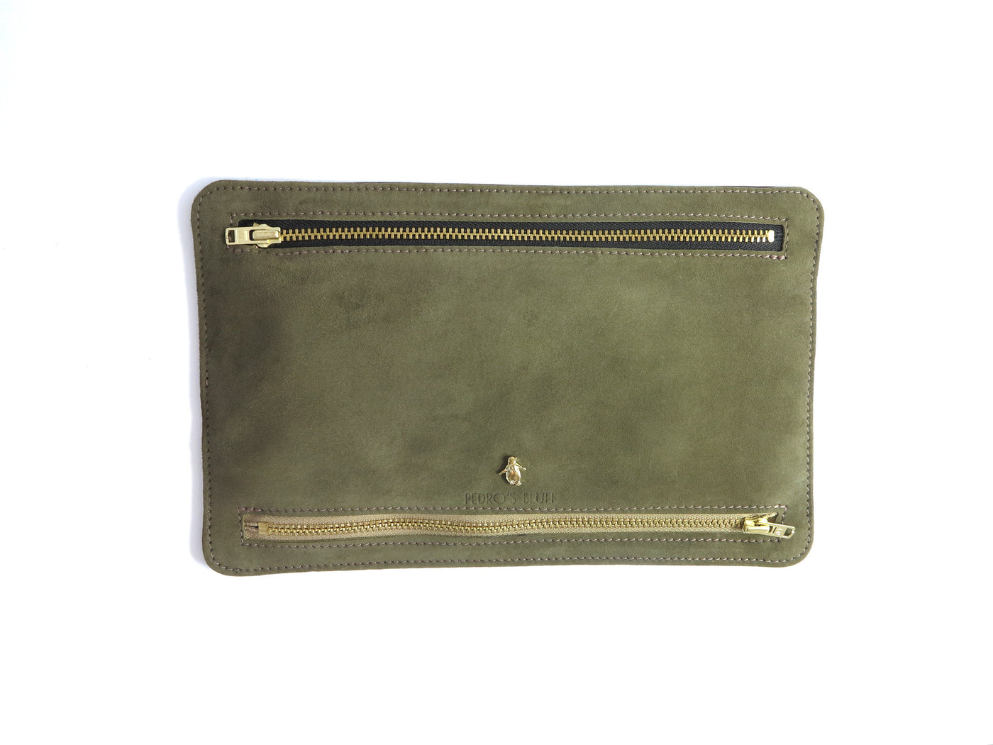 Globehopper Wallet - Olive Grove - PEDRO'S BLUFF - New Zealand Leather Bags & Accessories