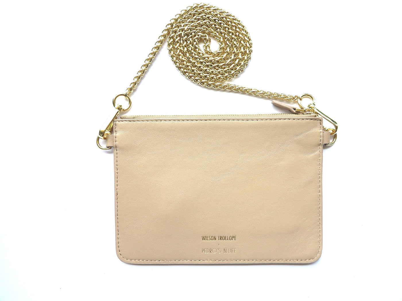 Soirée Pochette - Nude - PEDRO'S BLUFF - New Zealand Leather Bags & Accessories