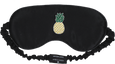 Mulberry Sleep Mask - Tropics (Black) - PEDRO'S BLUFF - New Zealand Leather Bags & Accessories