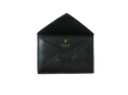 Envelope Cardholder - Jet Black - PEDRO'S BLUFF - New Zealand Leather Bags & Accessories