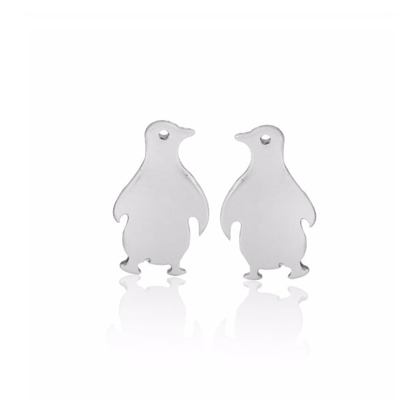 Pedro Stud Earrings - Silver