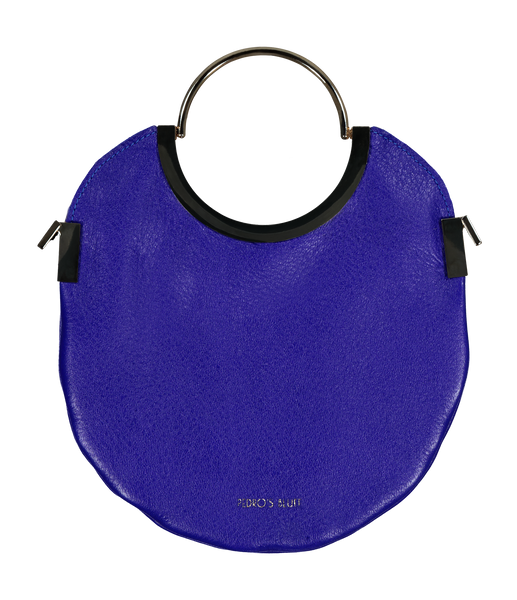 Vongole Circle Tote - Indigo - PEDRO'S BLUFF - New Zealand Leather Bags & Accessories