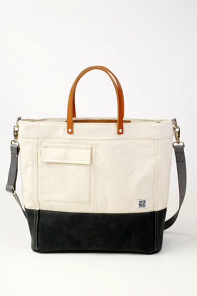 ChesterWallace The Driver Tote / Natural with Grey