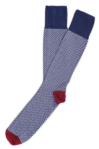 American Trench Edo Collection - Pima Cotton Herringbone Socks