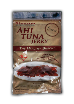 Itsumo Tuna Jerky Sweet Package Front