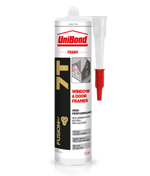 Uni Bond 7T Silicone Sealant 300ml