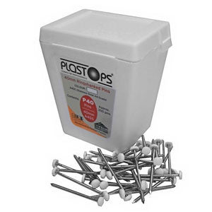 Freefoam Plastop Pins, Nails and Cladpins