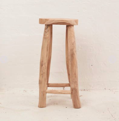 Rustic Milk Bar Stool