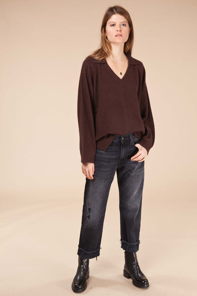 V neck Sweater SPERONE / Loulou Studio