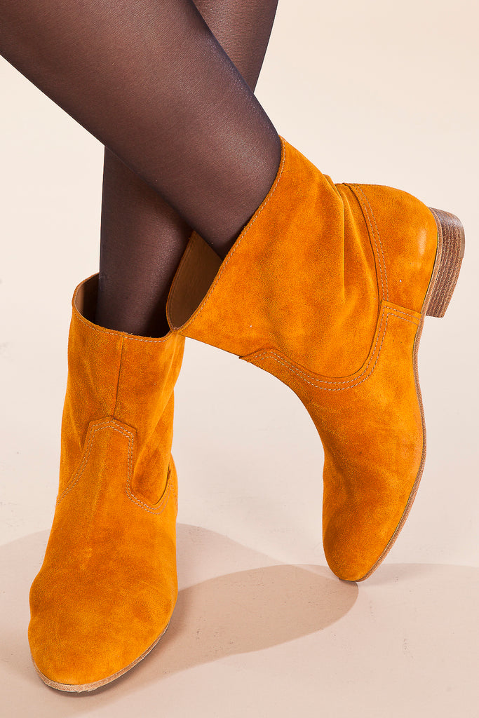 Suede Booties / forte_forte