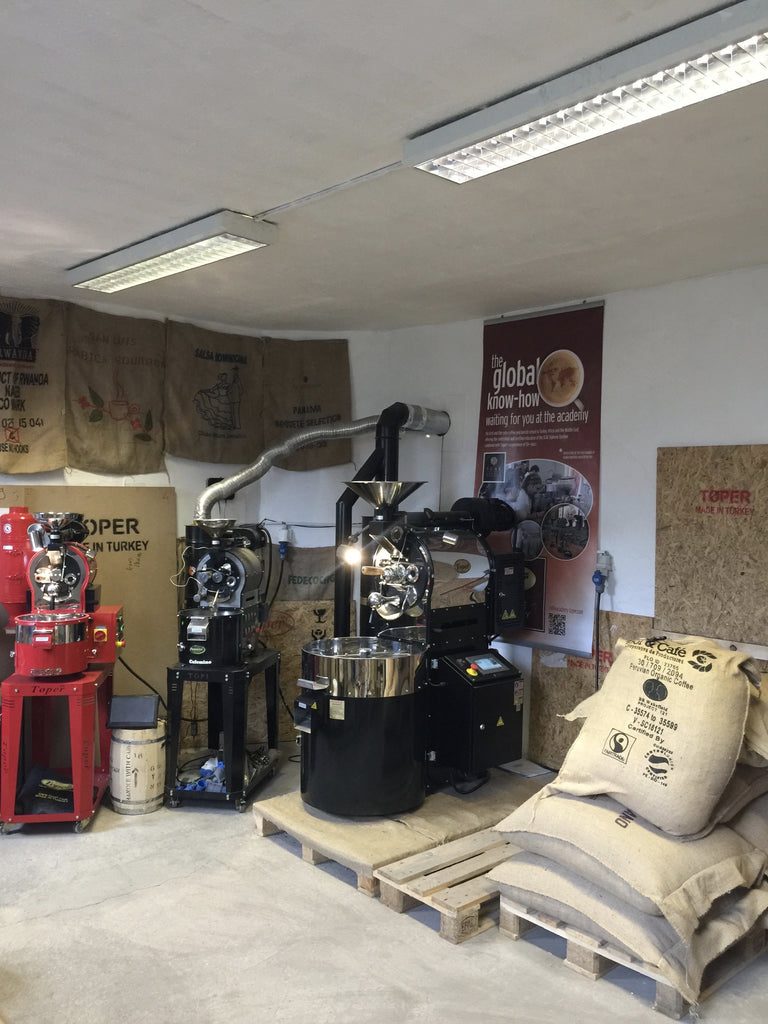 Come and have a Demonstration of Toper Coffee Roasters