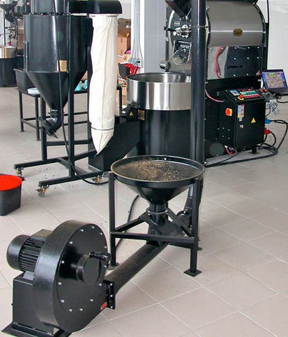 Toper Pneumatic Loader for 240kg Coffee Roasters