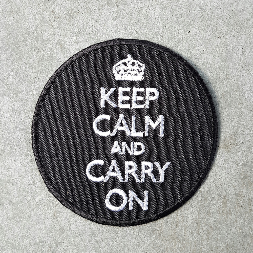"Patch ""keep calm"""