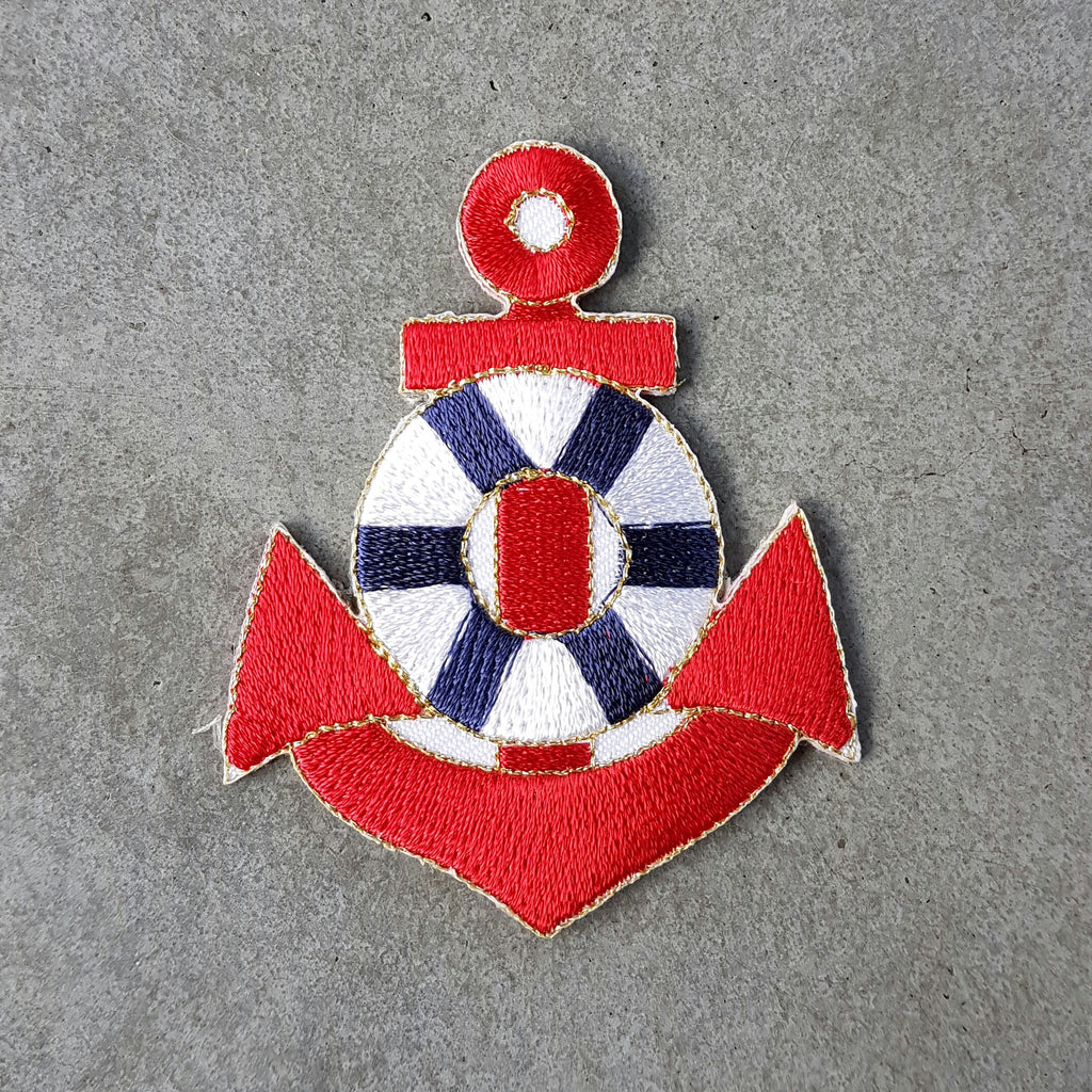 "Patch ""rood anker"""