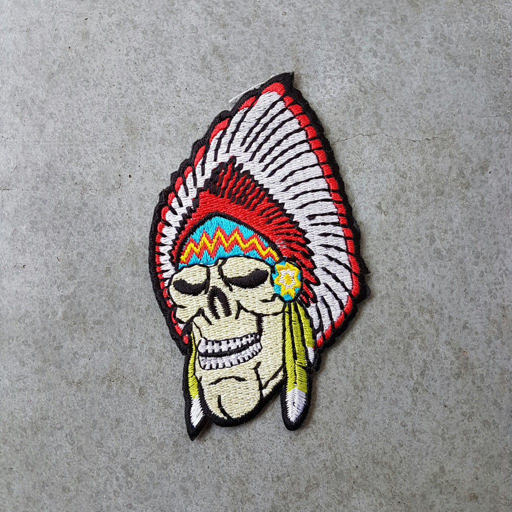 "Patch ""Indian skull"""