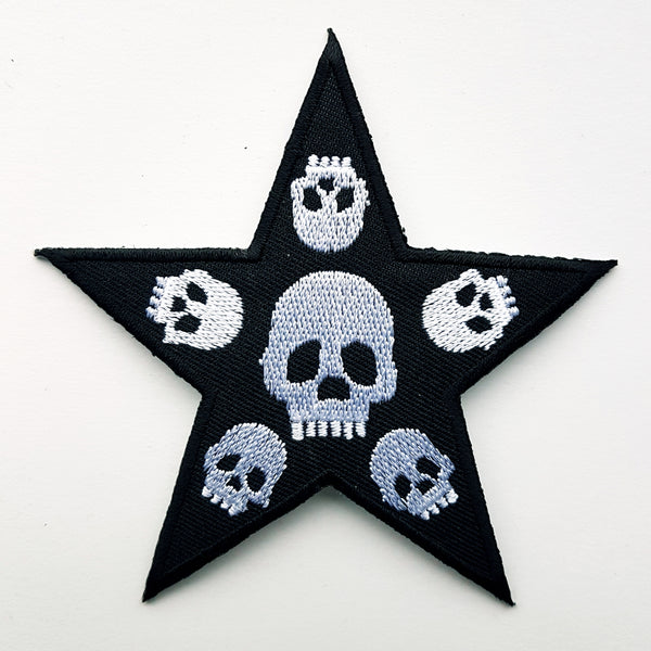 "Patch ""skull star"""