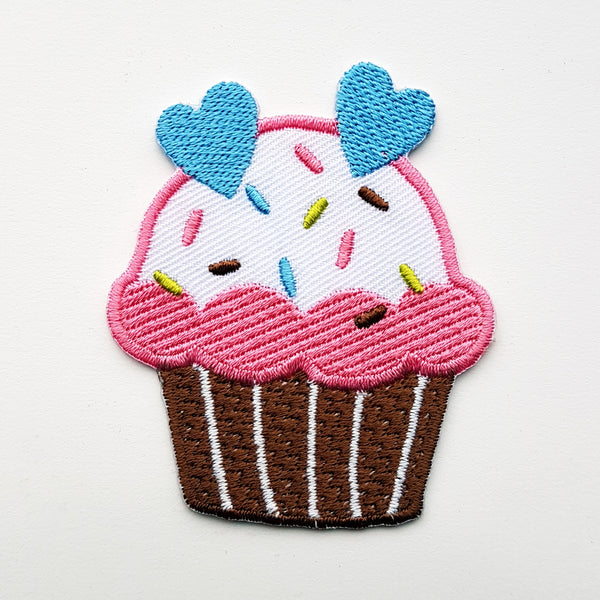 "Patch ""roze cupcake"""