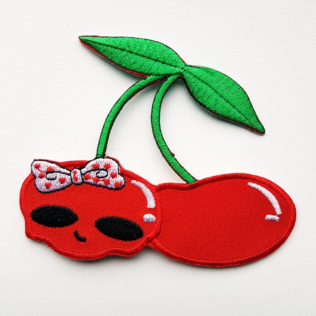 "Patch ""cherry skull"""