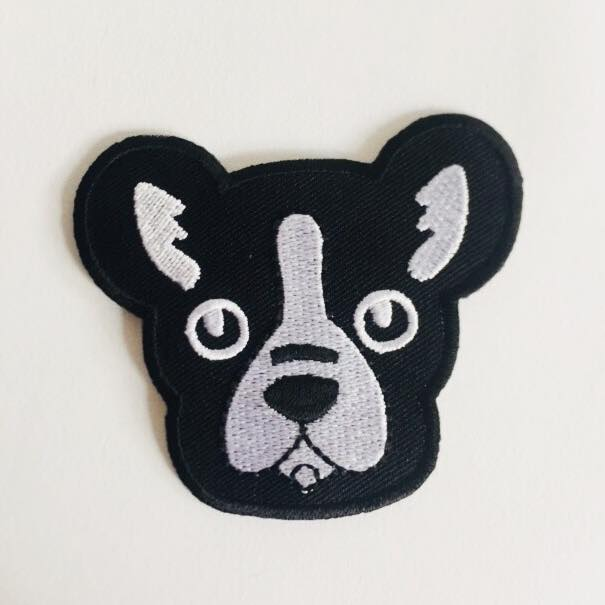 "Patch ""frenchie"""