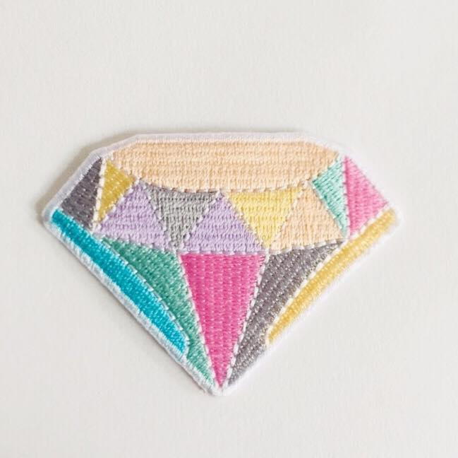 "Patch ""diamant"""