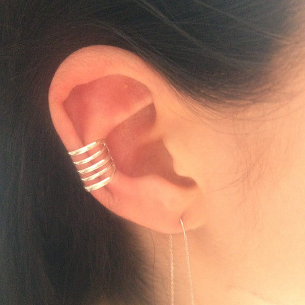 Earcuff in sterling zilver