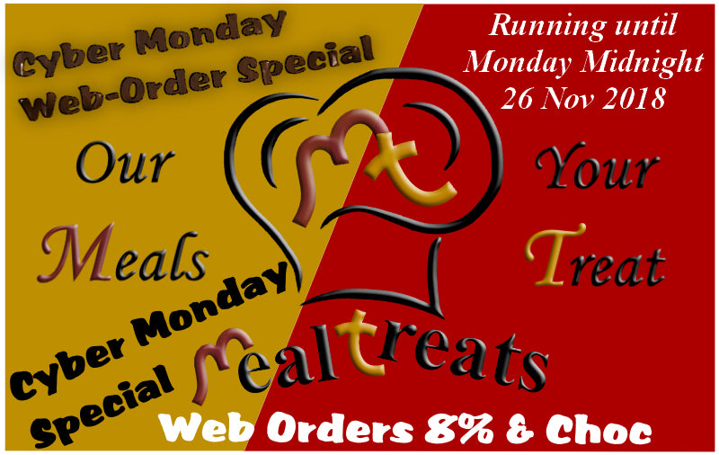 Mealtreats Cyber Monday Web Order Promotion