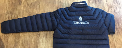 Padded Jacket with Tattersalls embroidery.