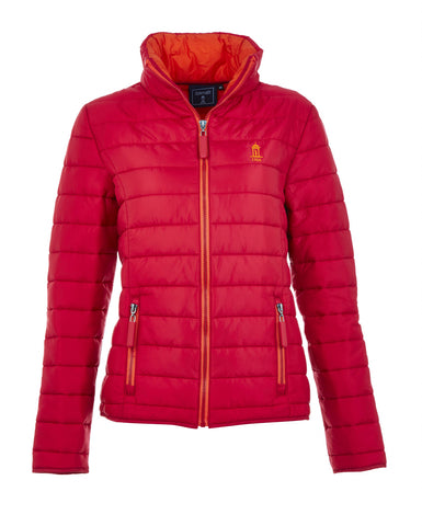 Red Ladies padded jacket, no hood WAS £60 NOW £48