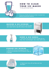 How to clean your Hoshizaki ice maker
