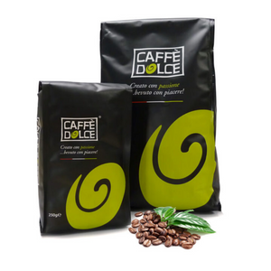 6 x 1KG Premium Caffe Dolce Roma Coffee Beans - Clear Cool