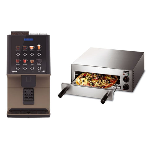 Coffee Machine & Pizza Oven Package