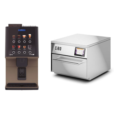 Coffee Machine & CIBO Oven Package