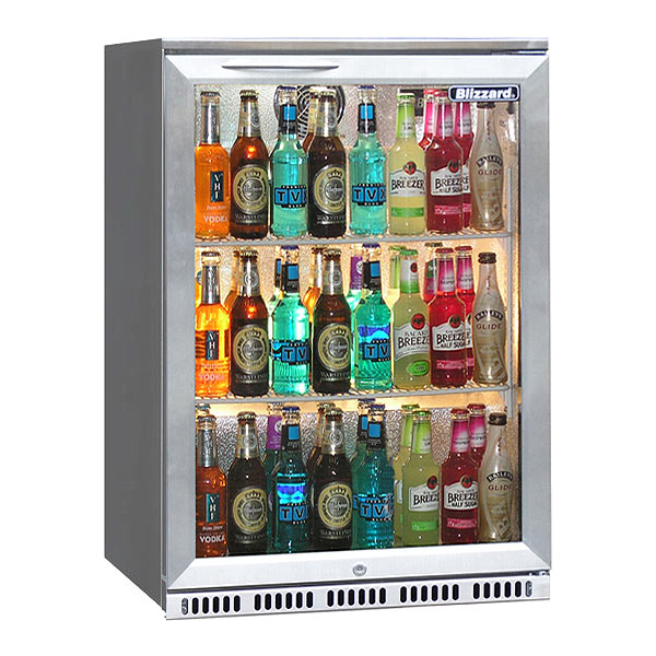 RENTAL Blizzard Stainless Steel Bar 1 Bottle Cooler - Clear Cool