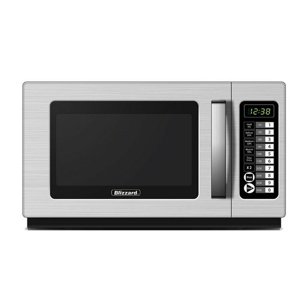 1800W Commercial Microwave - Clear Cool