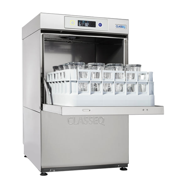 G400 Gravity Drain Classeq Glass Washer - Clear Cool