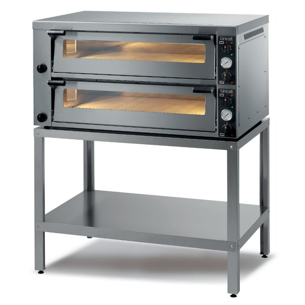 Premium Lincat PO630-2 Twin Deck Commercial Pizza Oven - Clear Cool