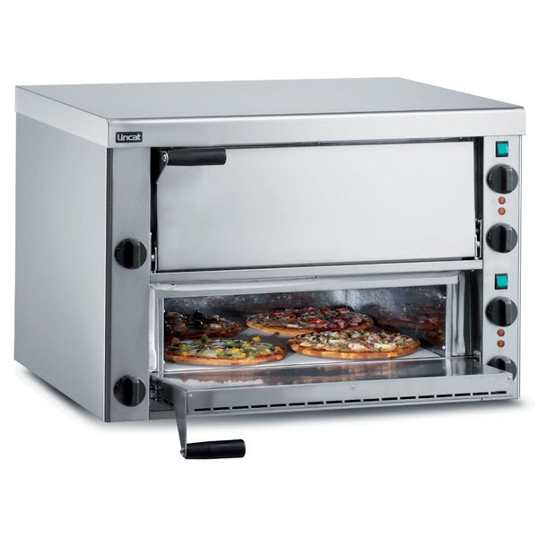 Standard Lincat PO89X Twin Deck Commercial Pizza Oven - Clear Cool