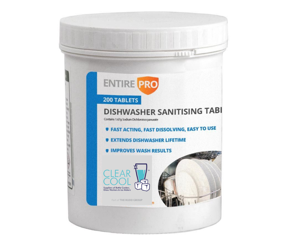 Dishwasher & Glasswasher Sanitising Tablets