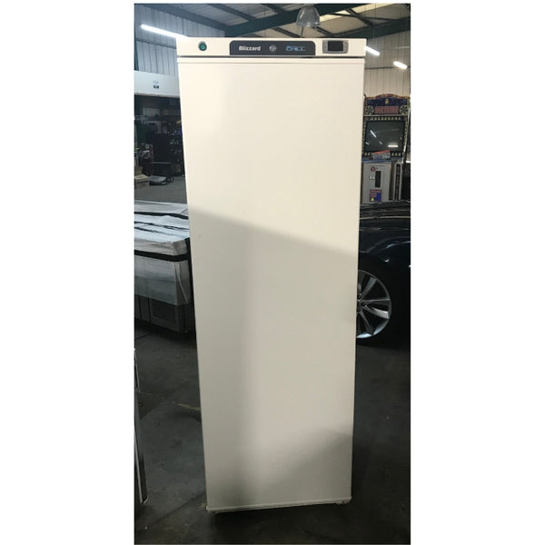 Used H400WH upright fridge front