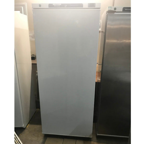 Used Blizzard L600SS upright commercial freezer front