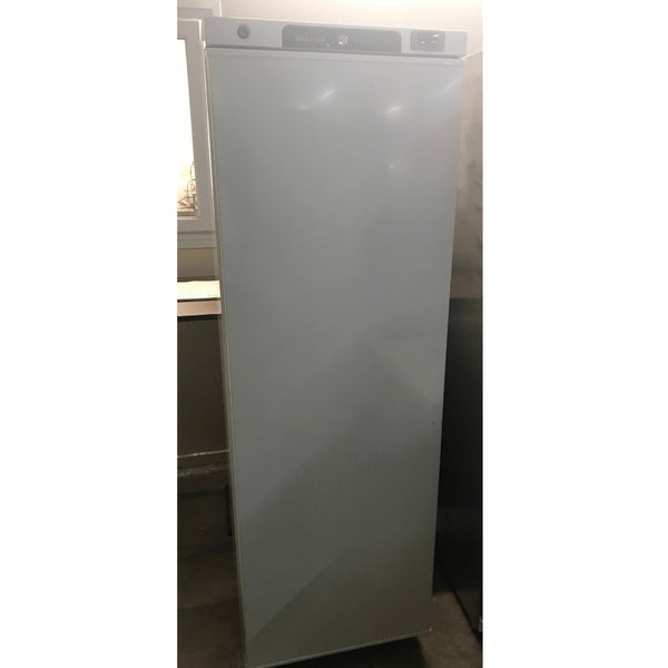 Used Blizzard upright L400WH freezer front